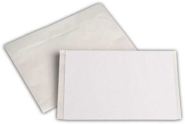 Begleitpapiertaschen transparent 137x175 mm