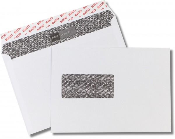 Elco-Security m. F. und Haftstreifen Weiss Zahlenmeerinnendruck chlorfrei FSC 162x229 mm C5 100 g/q