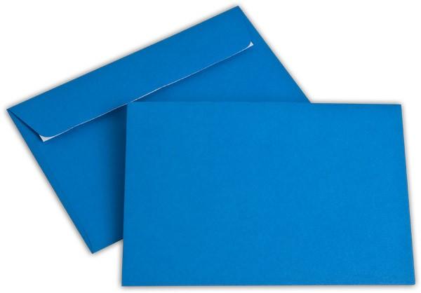 """Briefumschläge Haftstreifen """"Office Color"""" o. F. Königsblau 114x162 mm C6 100g/qm"""