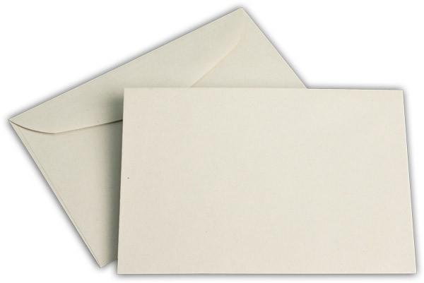 Kuvertierhüllen o. F. Grau 114x162 mm C6 75g/qm
