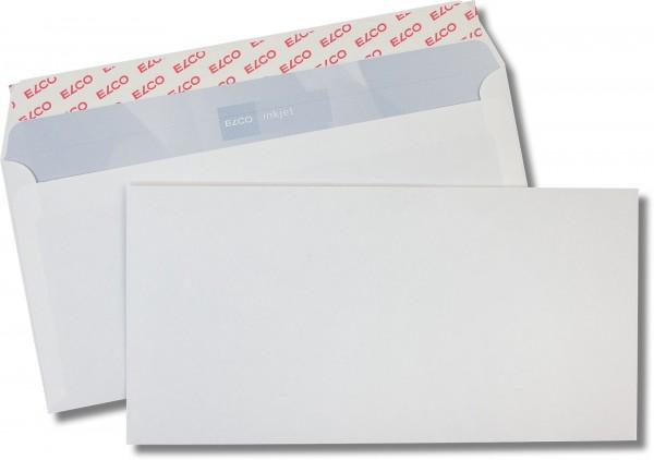 Briefumschläge Haftstreifen o. F. Weiss innen Grau Inkprint 114x229 mm C6/5 85g/qm