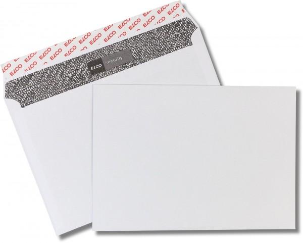Elco-Security Haftstreifen Weiss Zahlenmeerinnendruck chlorfrei FSC 162x229 mm C5 100 g/qm
