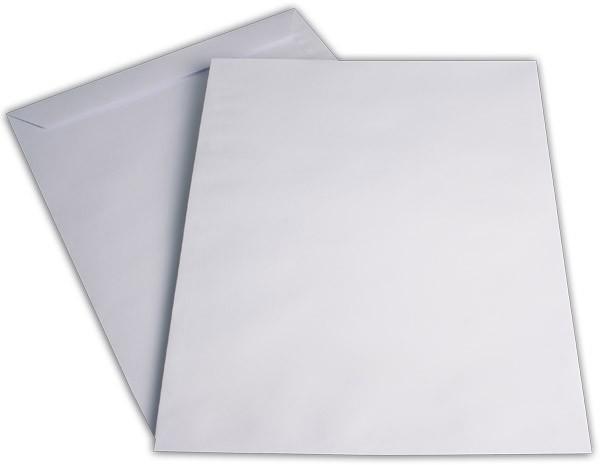 Röntgenfilmtaschen ungummiert Weiss Offset 370x450 mm 120g/qm