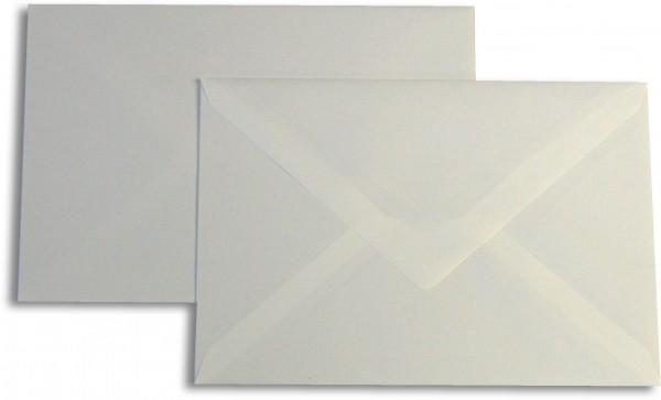 Briefumschläge Opaline Weiss halbglatt o. F. 162x229 mm C5 110g/qm