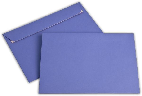"""Briefumschläge Haftstreifen """"Office Color"""" o. F. Violett 162x229 mm C5 100g/qm"""