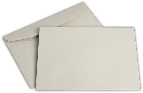 Kuvertierhüllen o. F. Grau 162x229 mm C5 75g/qm