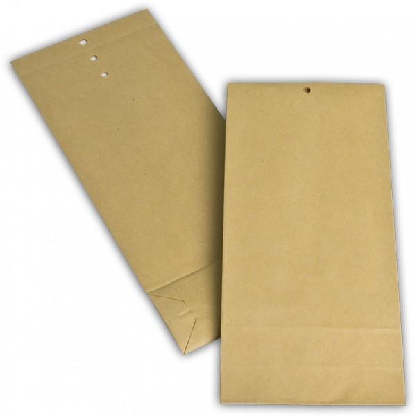 Musterbeutel Braun Natron 110x275+45 mm 120g/qm