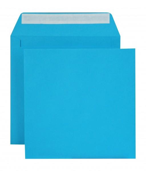 """Briefumschläge Haftstreifen """"Creativ Color"""" o. F. Königsblau 160x160 mm 120g/qm"""