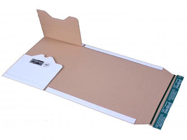 Universal-Versandverpackung PREMIUM 353x222x -92 zum Wickeln weiss