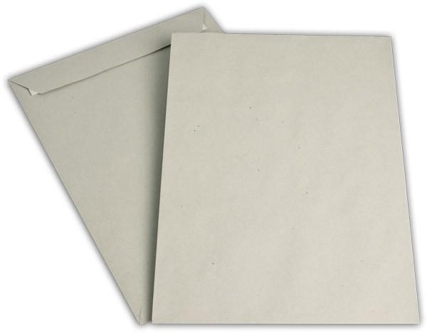 Versandtaschen Haftstreifen o. F. Grau 229x324 mm C4 100g/qm