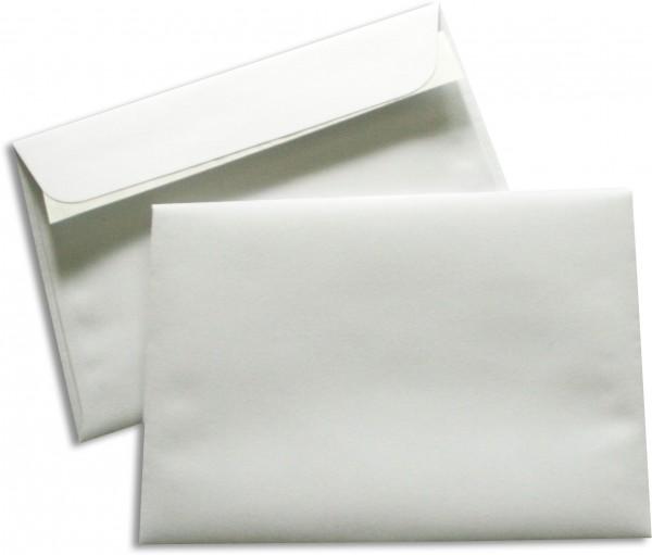 Briefumschläge Seidenfutter Haftstreifen Weiss chlorfrei 114x162 mm C6 90g/qm