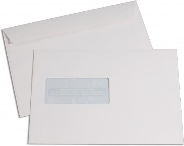 Elco Proclima m. F. Weiss Proclima FSC 162x229 mm Fenster: 45x100 mm C5 100 g/qm