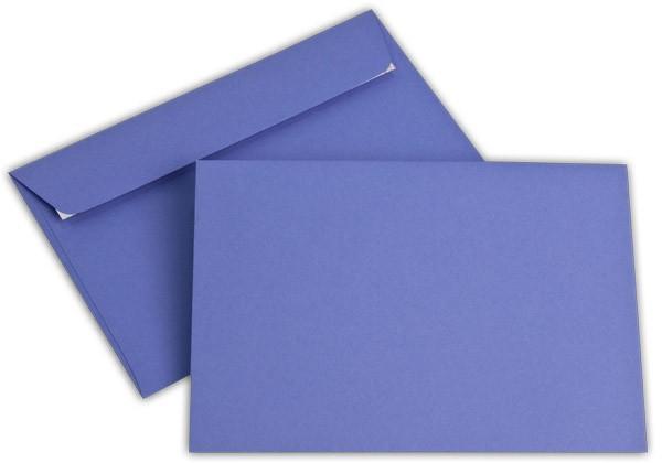 """Briefumschläge Haftstreifen """"Office Color"""" o. F. Violett 114x162 mm C6 100g/qm"""