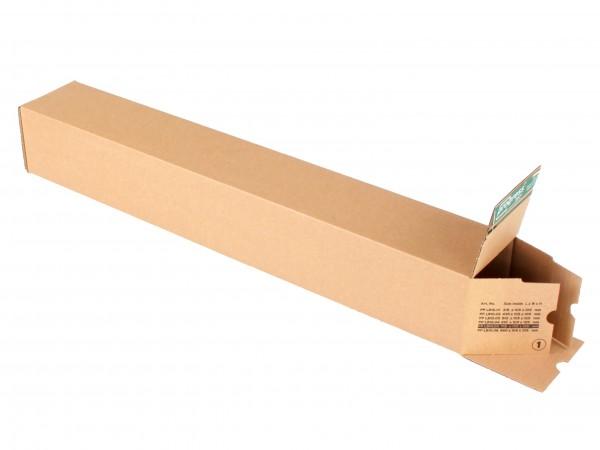 longBOX M PREMIUM Unisersalversandhülse 455x110x110 aus Wellpappe braun