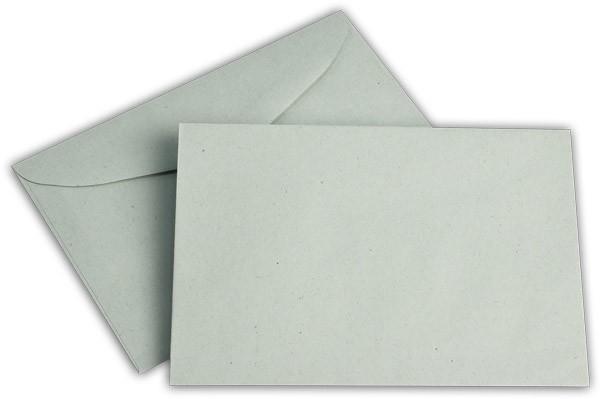 Briefumschläge nassklebend o. F. blau 114x162 mm C6 75g/qm