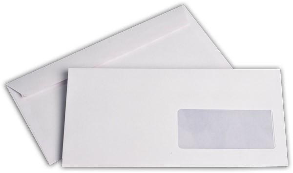 Briefumschläge Haftstreifen m. F. chlorfrei FSC 114x229 mm C6/5 100 g/qm