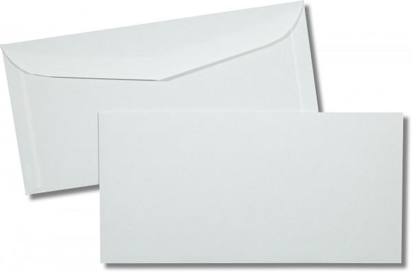 Kuvertierhüllen o. F. Weiss innen Grau Inkprint 114x229 mm C6/5 85g/qm