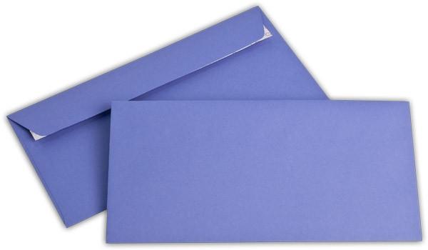 """Briefumschläge Haftstreifen """"Office Color"""" o. F. Violett 114x229 mm C6/5 100g/qm"""