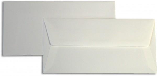 Briefumschläge Opaline Weiss halbglatt o. F. 110x220 mm DL 110g/qm