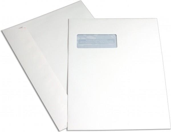Elco Proclima m. F. Weiss Proclima FSC 229x324 mm Fenster: 55x90 mm C4 120 g/qm