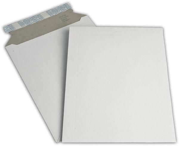 Kartontaschen Toppac Aufreißhilfe Weiss innen Grau Karton 250x353 mm 500g/qm