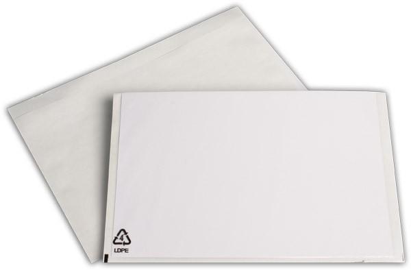 Begleitpapiertaschen transparent 188x240 mm
