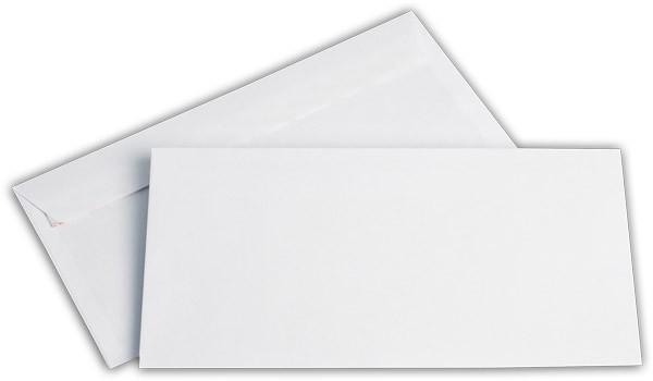Briefumschläge Haftstreifen o. F. Weiss chlorfrei FSC 114x229 mm C6/5