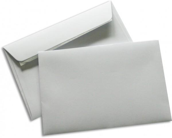 Briefumschläge Seidenfutter Haftstreifen Weiss chlorfrei 120x180 mm 90g/qm