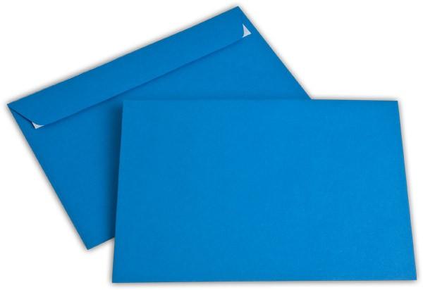 """Briefumschläge Haftstreifen """"Office Color"""" o. F. Königsblau 162x229 mm C5 100g/qm"""