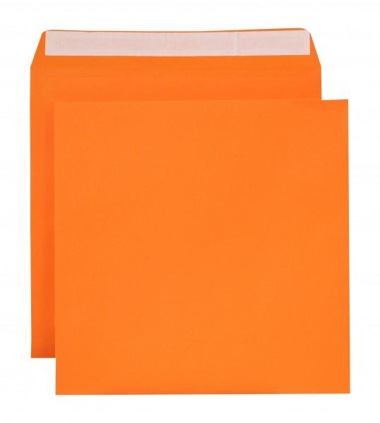 """Briefumschläge Haftstreifen """"Creativ Color"""" o. F. Orange 220x220 mm 120g/qm"""