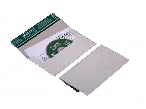 CD-MAILER DL 224x127x4,6 aus Vollpappe weiss