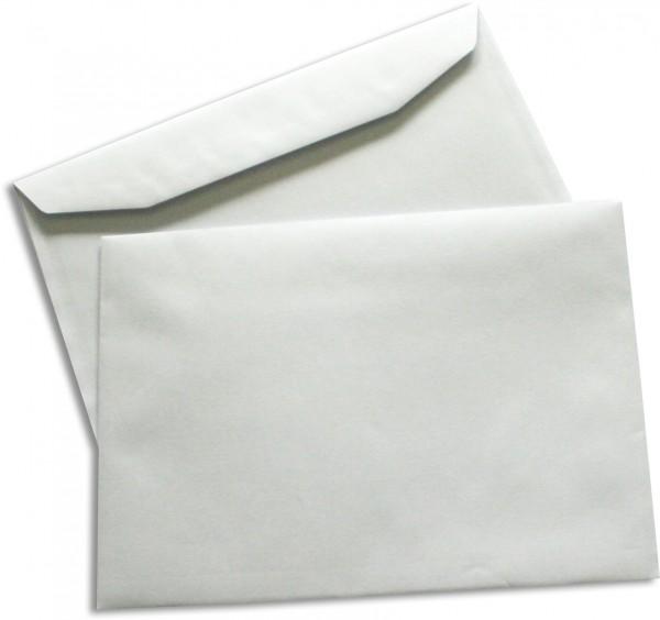 Kuvertierhüllen o. F. Weiss innen Grau chlorfrei FSC 162x229 mm C5 80g/qm