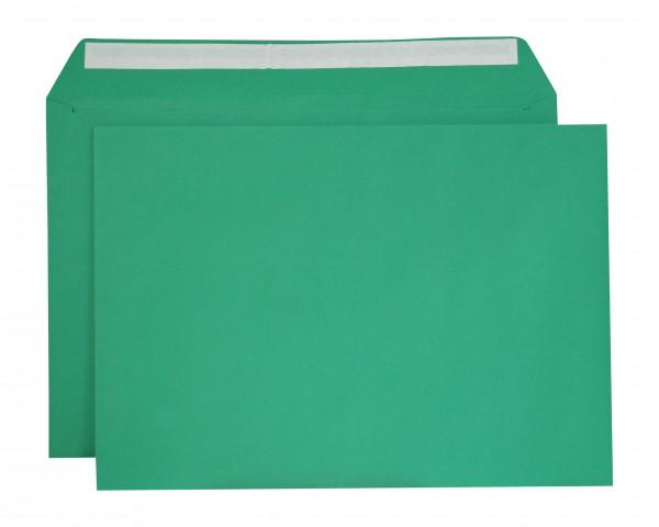 """Briefumschläge Haftstreifen """"Creativ Color"""" o. F. Grün 229x324 mm C4 120g/qm"""