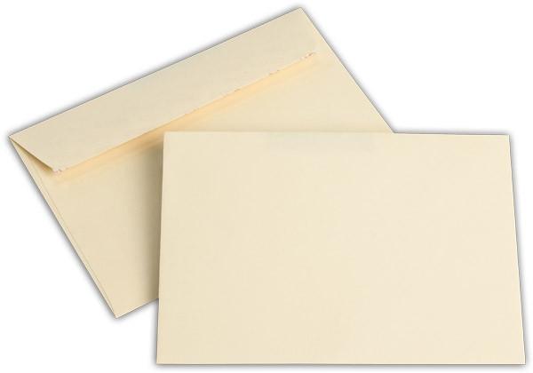 """Briefumschläge Haftstreifen """"Office Color"""" o. F. Hellchamois 114x162 mm C6 100g/qm"""