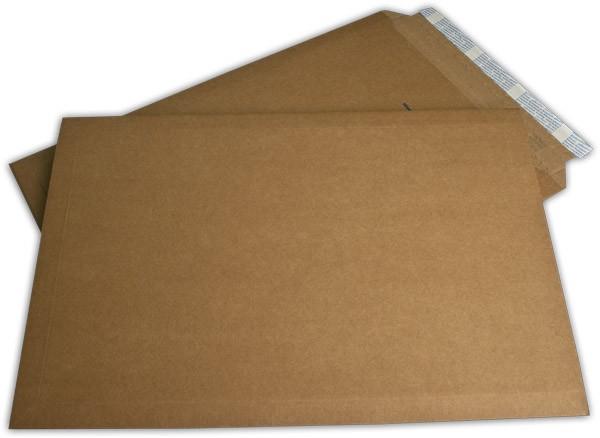 Suprawell Versandtaschen Haftstreifen Braun Mikrowelle 370x540 mm