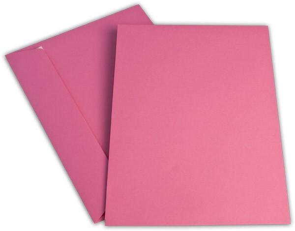 """Briefumschläge Haftstreifen """"Office Color"""" o. F. Eosinrot 229x324 mm C4 100g/qm"""