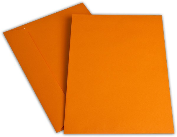 "Briefumschläge Haftstreifen ""Office Color"" o. F. Orange 229x324 mm C4 100g/qm"