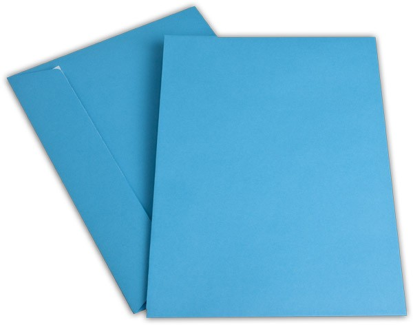 """Briefumschläge Haftstreifen """"Office Color"""" o. F. Intensivblau 229x324 mm C4 100g/qm"""