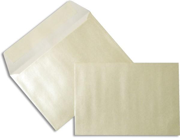 Pearls Briefhüllen Haftstreifen Weiss Pearl 114x162 mm C6 100g/qm