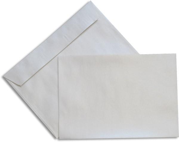Pearls Briefhüllen Haftstreifen Weiss Pearl 162x229 mm C5 100g/qm