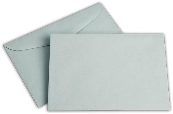 Briefumschläge nassklebend o. F. blau 125x176 mm B6 75g/qm