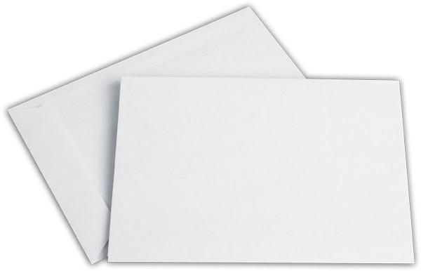 Versandtaschen Haftstreifen o. F. Weiss chlorfrei 162x229 mm C5 90g/qm