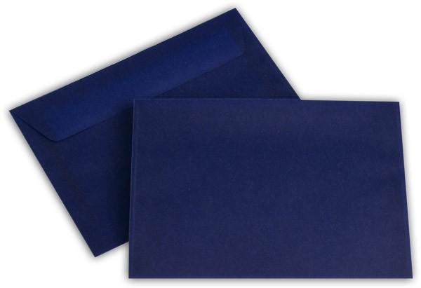 Briefumschläge transparent Haftstreifen o. F. Intensivblau 114x162 mm C6 100g/qm