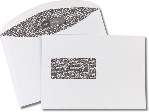 Elco-Security Kuvertierhüllen m. F. Weiss Zahleninnenmeerdruck chlorfrei FSC 162x229 mm C5 100 g/qm