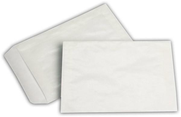 Lohnbeutel transparent Pergamin 114x162 mm C6 70g/qm