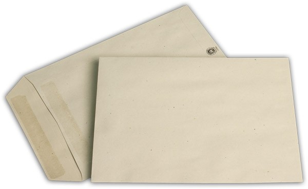 Versandtaschen o. F. Grau 162x229 mm C5 80g/qm