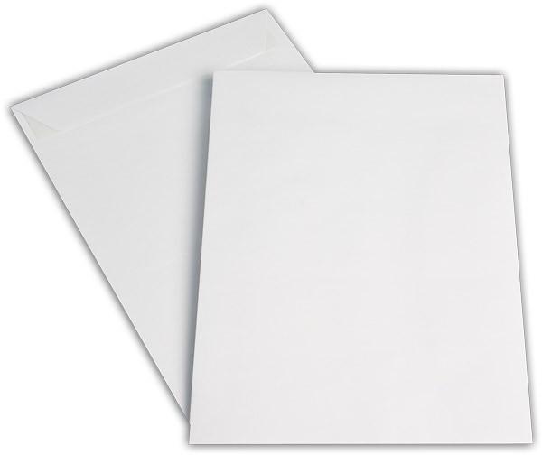 Versandtaschen Haftstreifen o. F. Weiss chlorfrei 200x280 mm E5 100g/qm