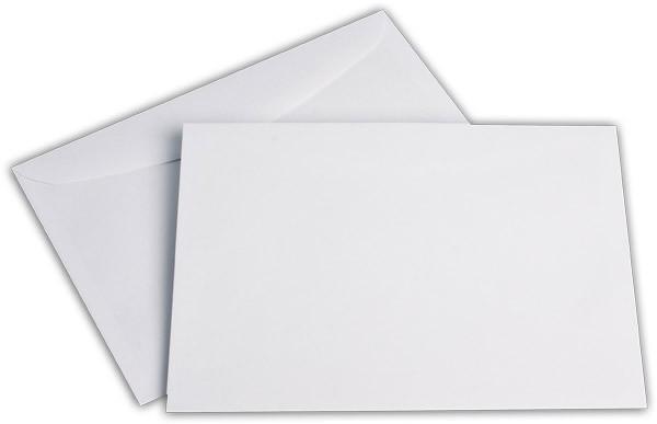 Kuvertierhüllen o. F. Weiss chlorfrei FSC 162x229 mm C5 100 g/qm