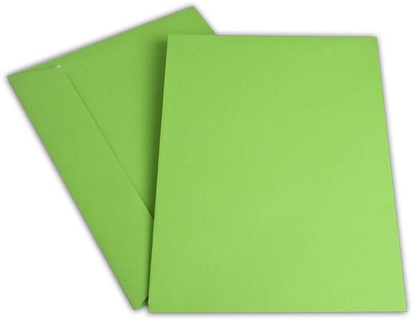 """Briefumschläge Haftstreifen """"Office Color"""" o. F. Intensivgrün 229x324 mm C4 100g/qm"""