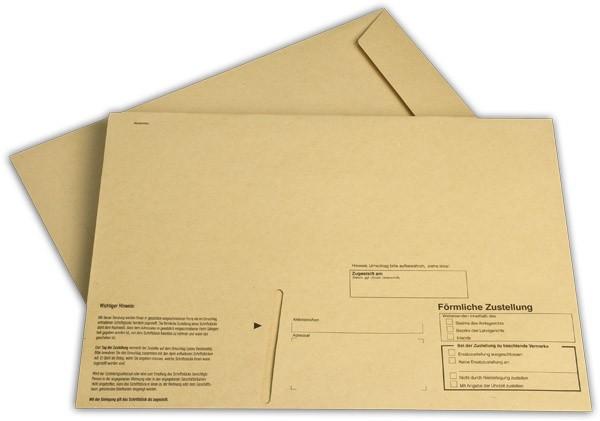 Innere Zustellungshülle Gelb HKS4 Einsteckschlitz Haftstreifen o. F. 229x324 mm C4 100 g/qm